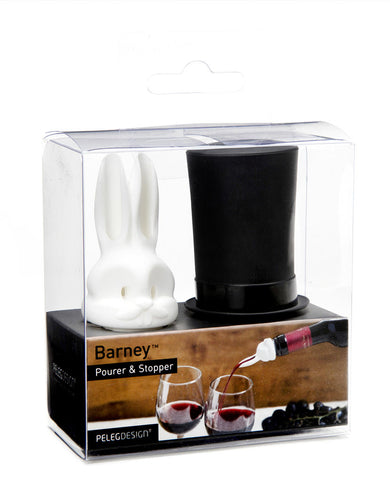 Barney- Double Pourer/Stopper