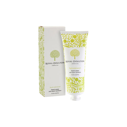 Royal Doulton Fable Hand Cream- Fig & Cedarwood