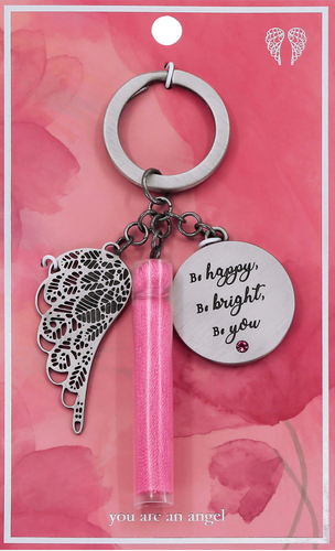 Be Happy- Keychain
