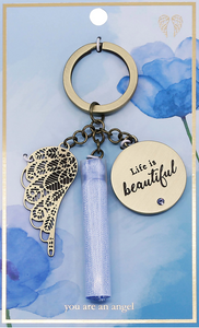 Life Is Beautiful - Keychain