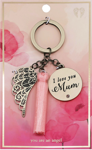 I Love You Mum - Keychain