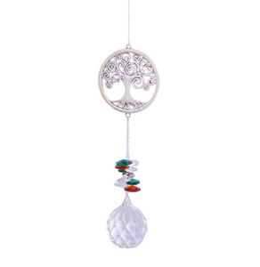 Eternity Crystal Sun Catcher- Tree Of Life