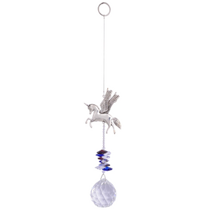 Eternity Crystal Sun Catcher- Unicorn