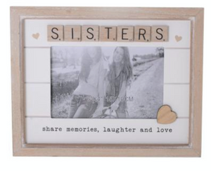 Scrabble Hearts Sisters