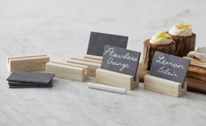 Slate and Wood Name Cards  PREORDER AVAILABLE JUNE
