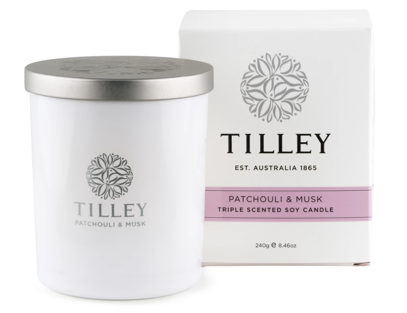 Tilley Candle- Patchouli & Musk