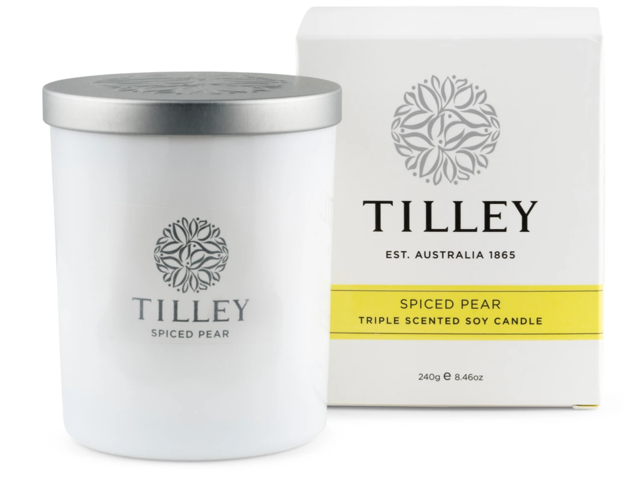 Tilley Candle- Spiced Pear