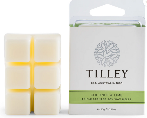 Tilley Wax Melts- Coconut & Lime