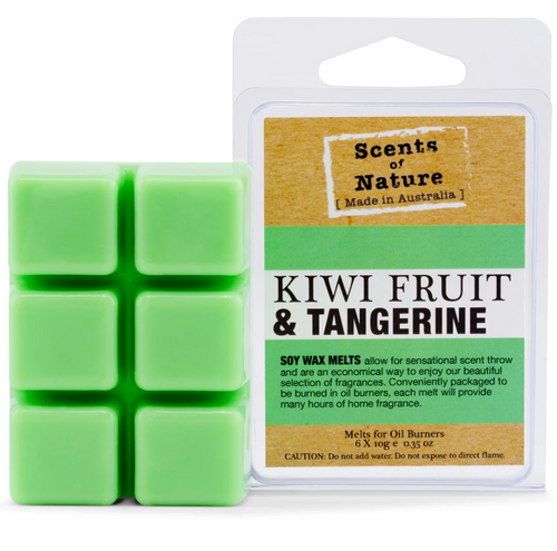 Scents Of Nature Melts- Kiwi & Tangerine