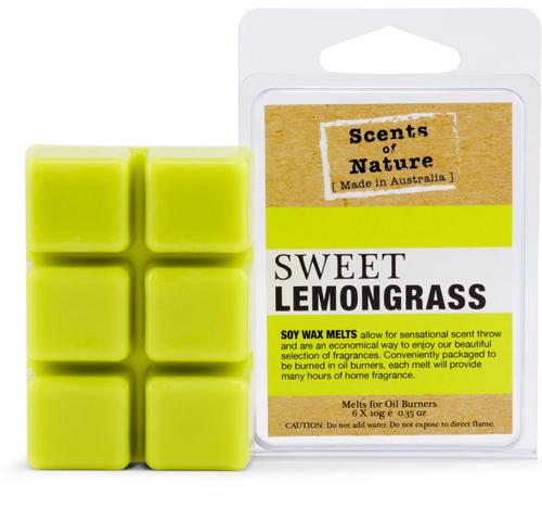 Scents Of Nature Melts- Sweet Lemongrass