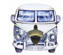 Kombi Leaves Wall Bottle Opener