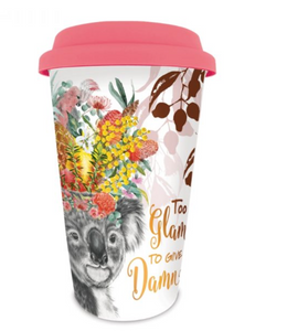 Too Glam Koala Travel Mug