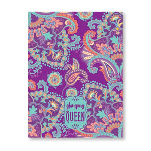 Glamping Queen Tea Towel