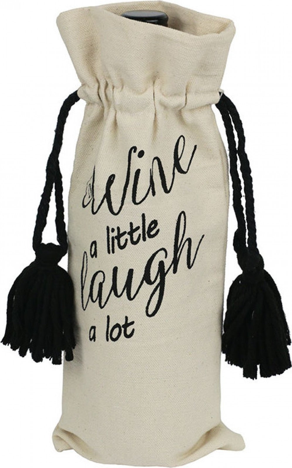 Bottle Bag Wine Laugh