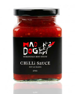 Mad Dog Chilli Sauce
