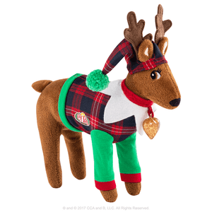 CLAUS COUTURE COLLECTION® PLAYFUL REINDEER PJ'S
