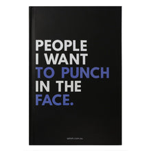 Don't Hold Back Punch In Face Journal