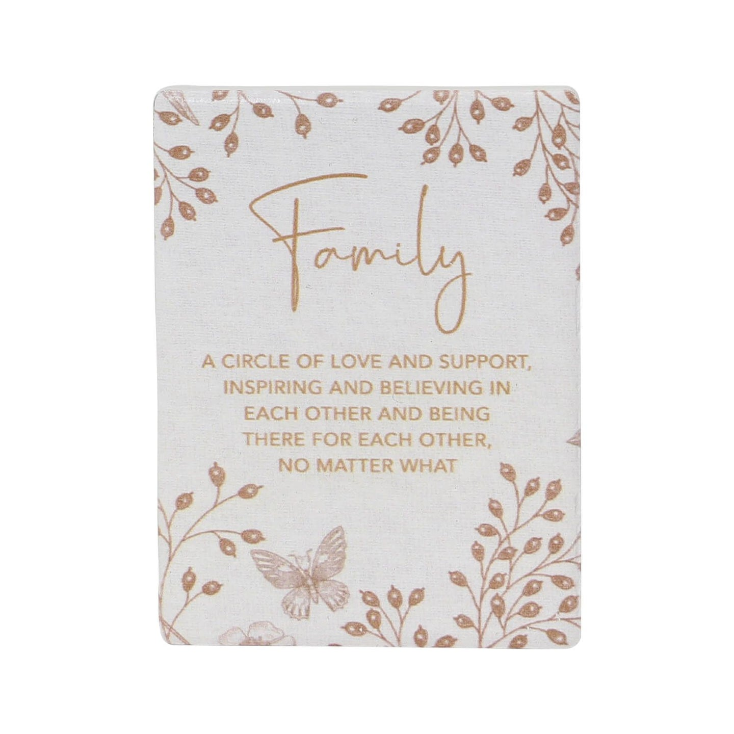 Full Bloom Family Ceramic Magnet