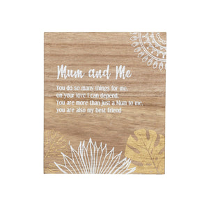Havana Mum and Me Verse
