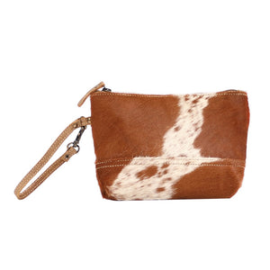 SNOWY & COCOA HAIRON POUCH