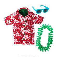 CLAUS COUTURE COLLECTION® HOLIDAY HAWAIIAN SHIRT