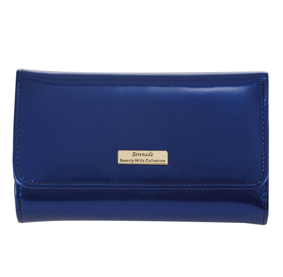 Serenade wallet blue