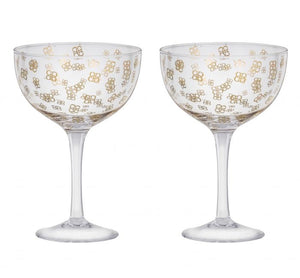 COUPE GLASS SET/2