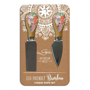 Native Galah Cheese Knives