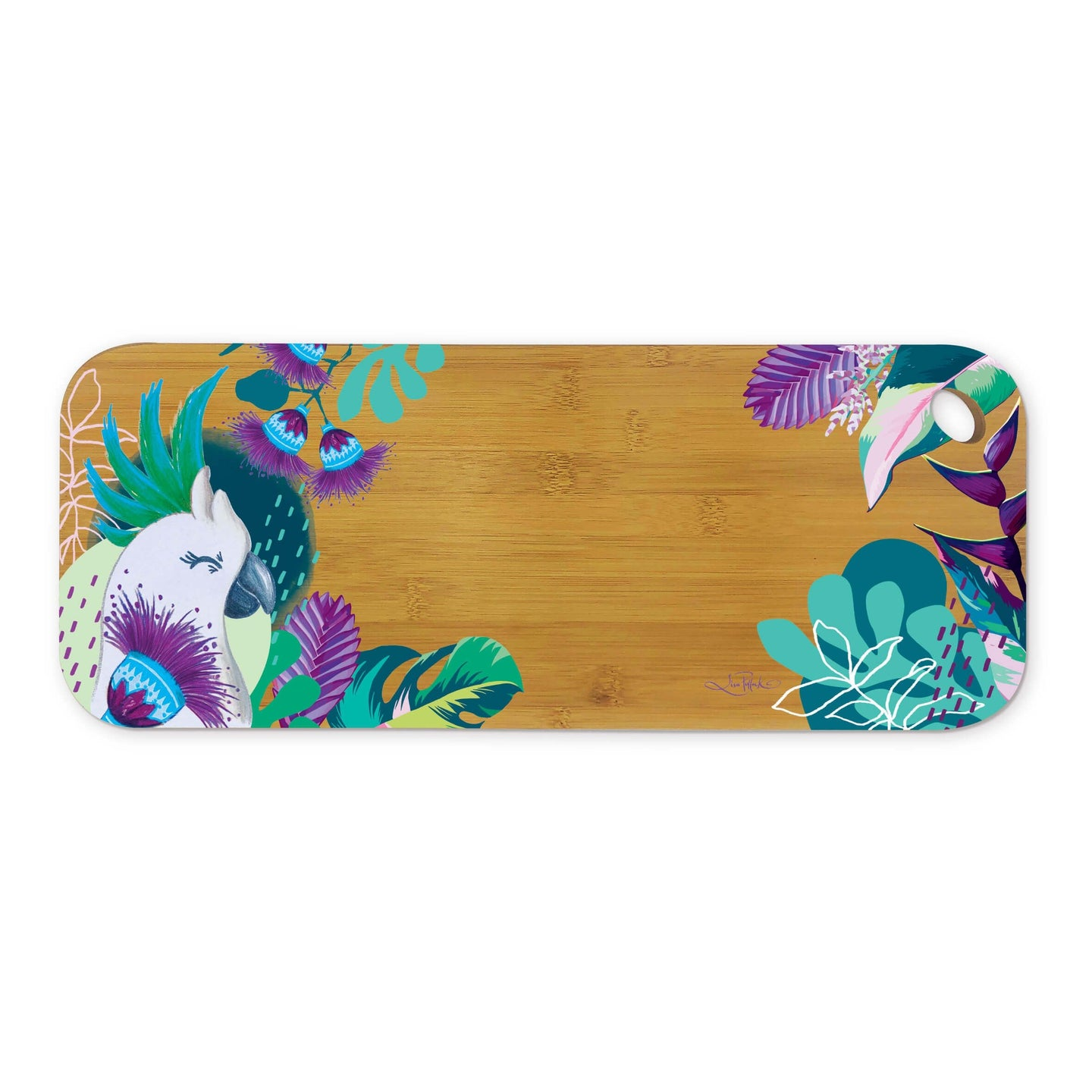 Bamboo Serving Platter Polly