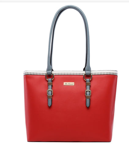 Miss Serenade red handbag