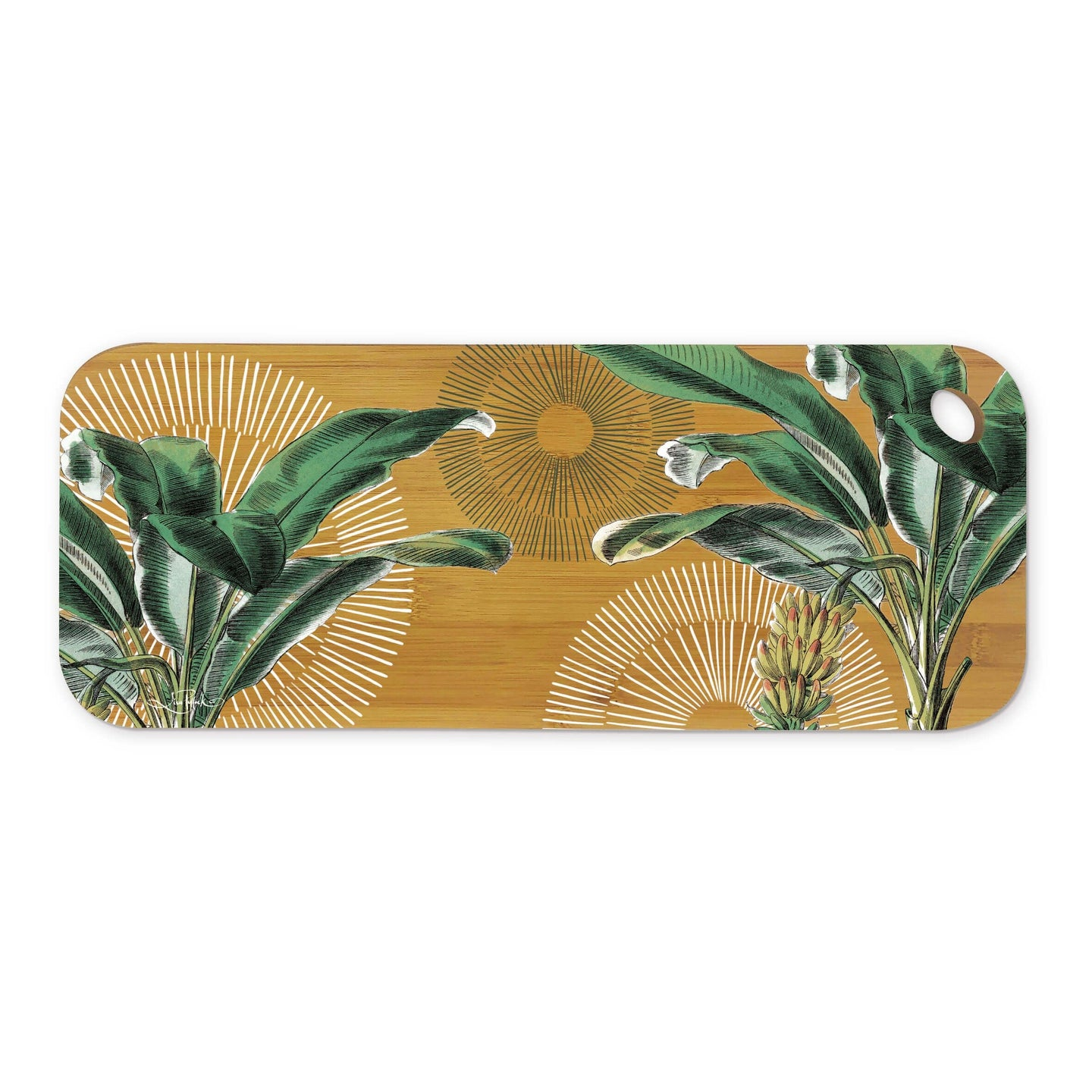 Bamboo Serving Platter Plantation