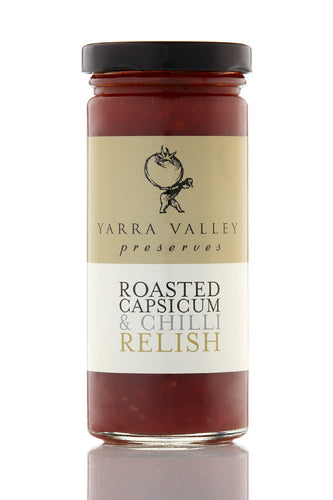 Roasted Capsicum & Chilli relish