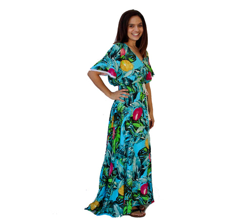 Jessica Long Maxi Tropical