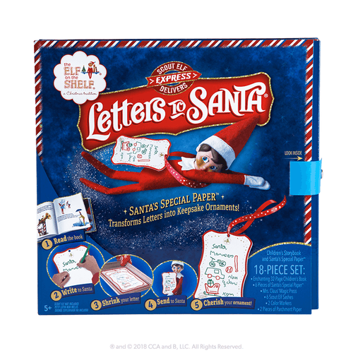 SCOUT ELF EXPRESS DELIVERS LETTERS TO SANTA®