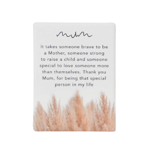 Natural Oasis Mum Ceramic Magnet