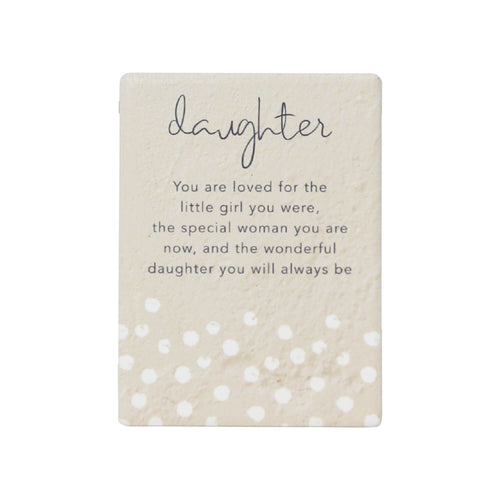 Natural Oasis Daughter Ceramic Magnet