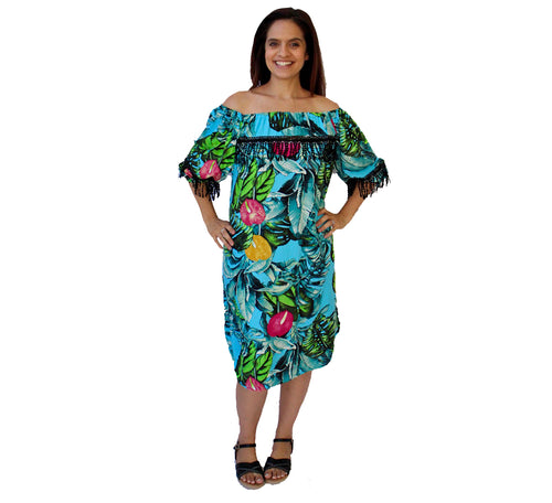 Samantha Dress Tropical