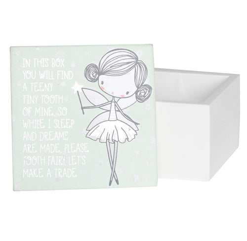 Mint Tooth Fairy Box