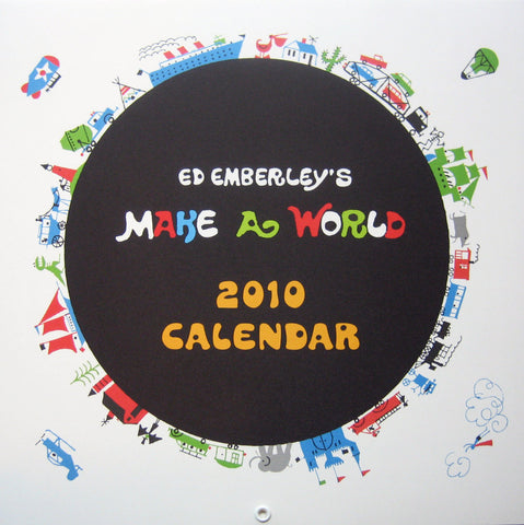2010 ed emberley make your world calendar