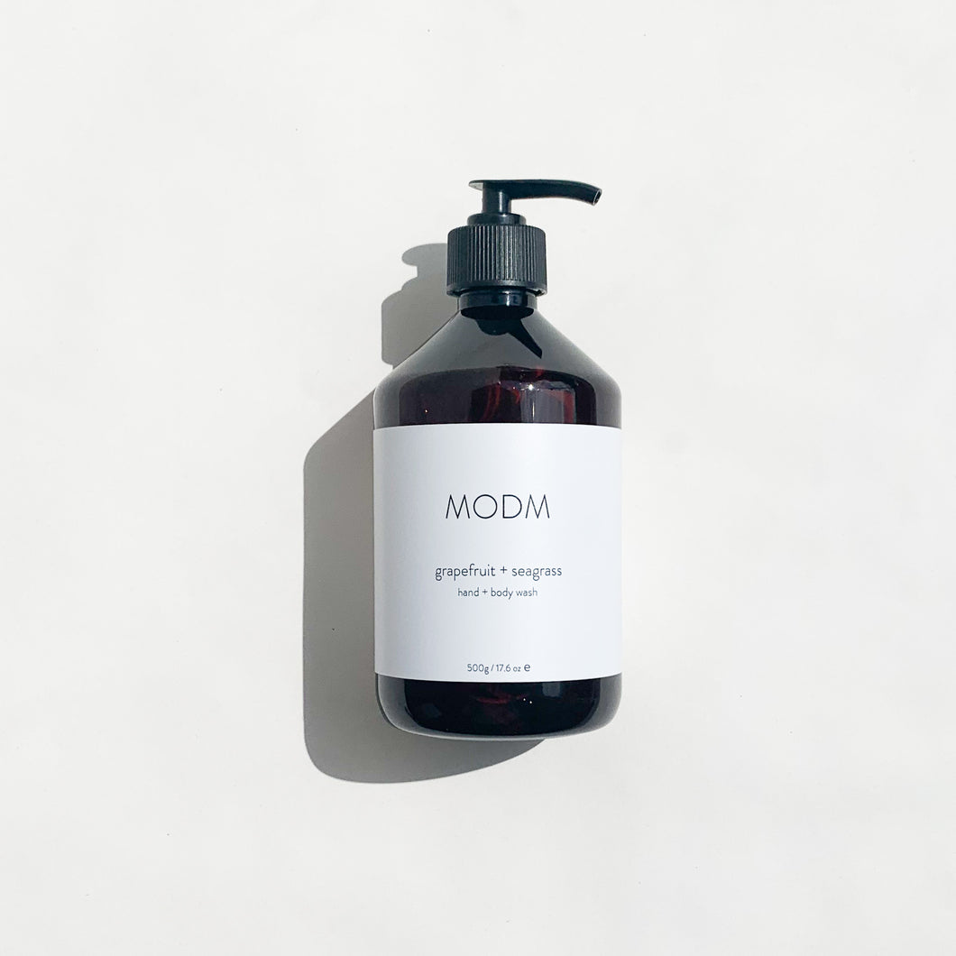 MODM Hand + Body Wash - Grapefruit + Seagrass