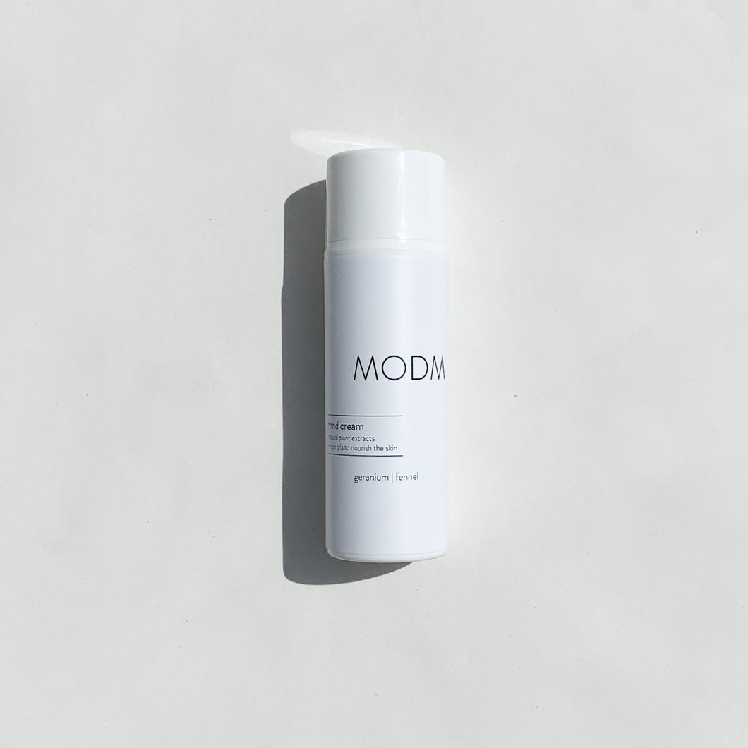 MODM Hand Cream - geranium + fennel 100ml