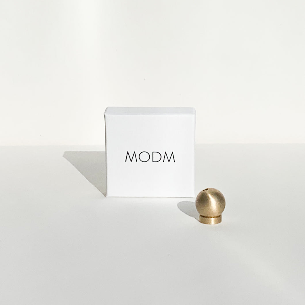 MODM Brass Incense Holder