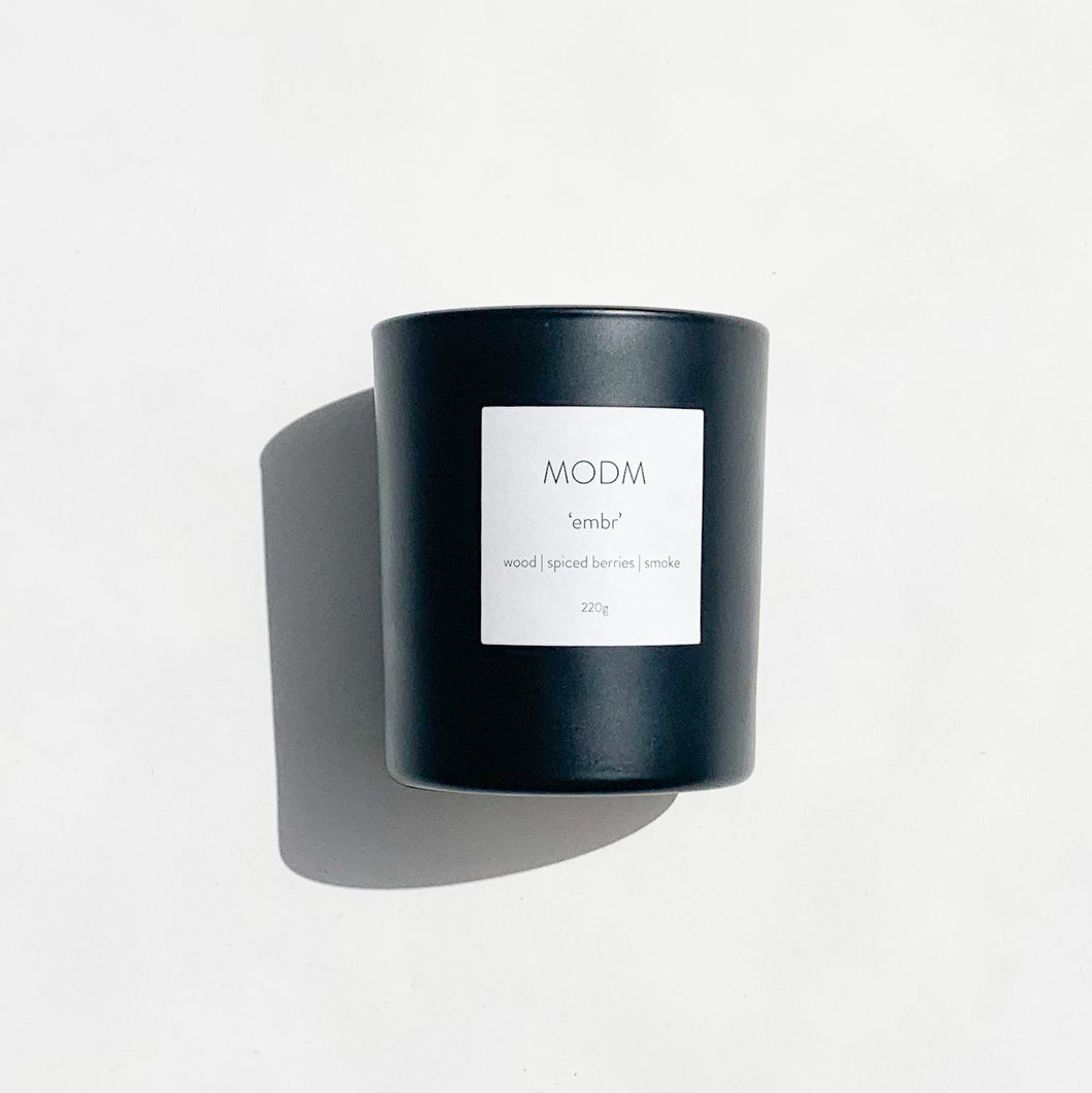 MODM  'embr'  Candle