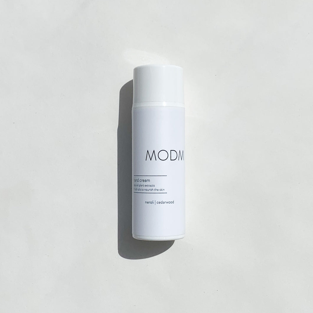 MODM Hand Cream - neroli + cedarwood 100ml