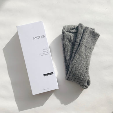 Copy of MODM Alpaca Bed Socks - Grey