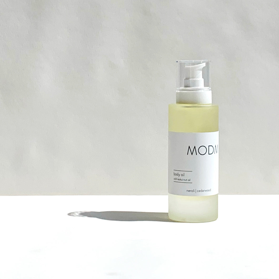 MODM Body Oil - geranium + fennel 100ml
