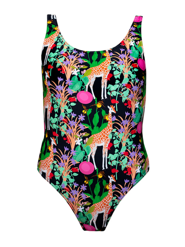 Kids Swimming Costume - Giraffe - Elizabeth Summer