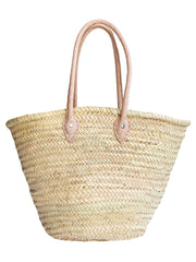 Moroccan Basket - Personalised - Light Handle Basket - Elizabeth Summer