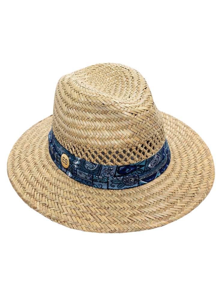 Portofino Hat - Blue Ribbon