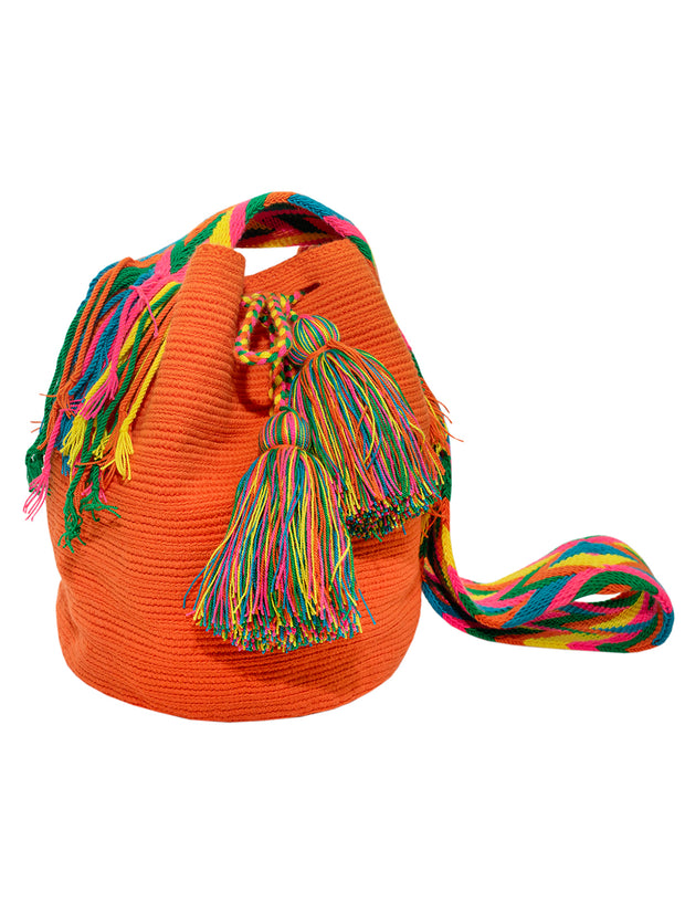 Wayuu Bag - Orange and Bright - Elizabeth Summer